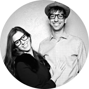 Portrait of Bettina and Kyle - The Founders of The Next Trip