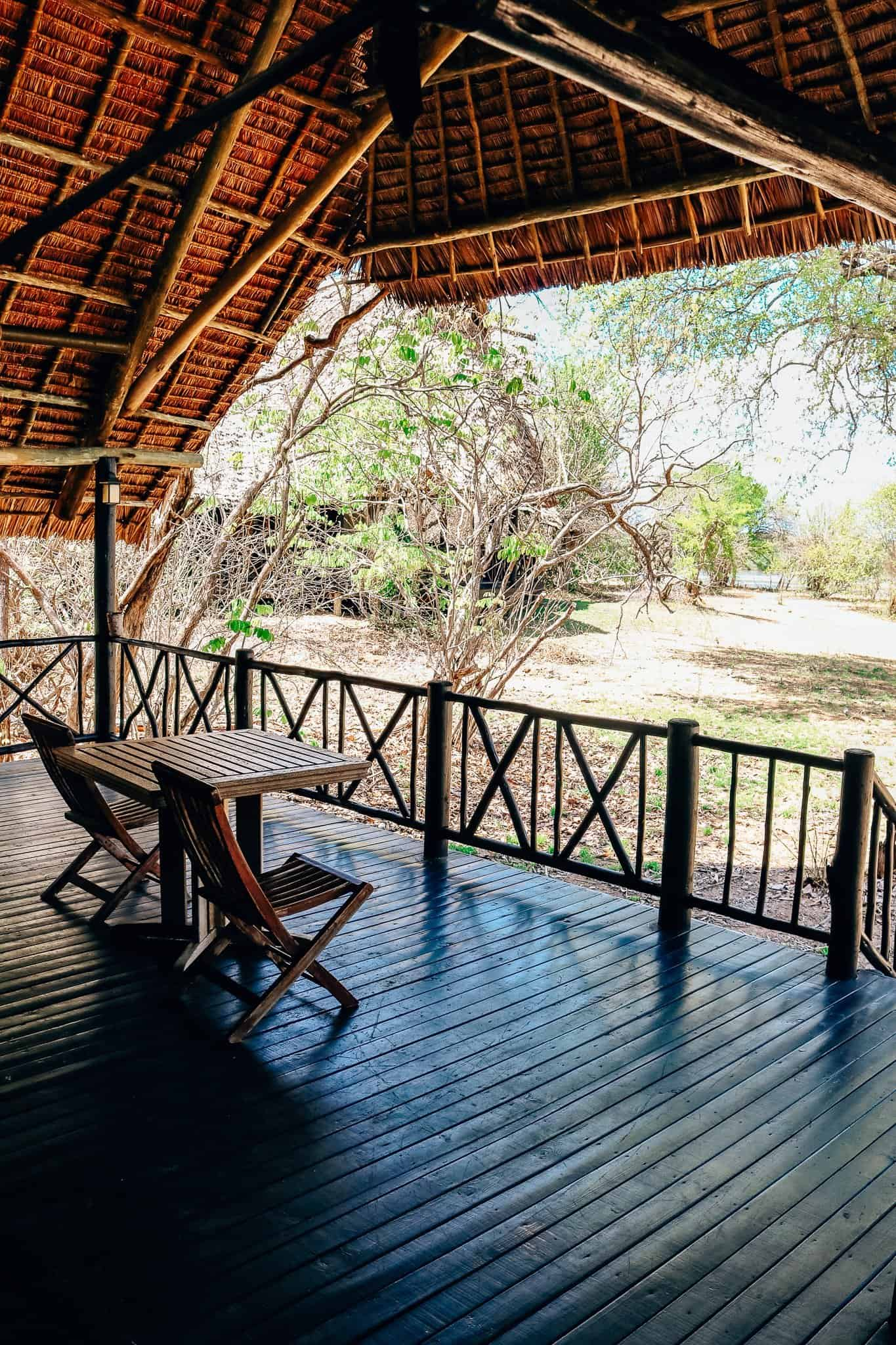 The Start of our First African Safari - Rufiji River Camp