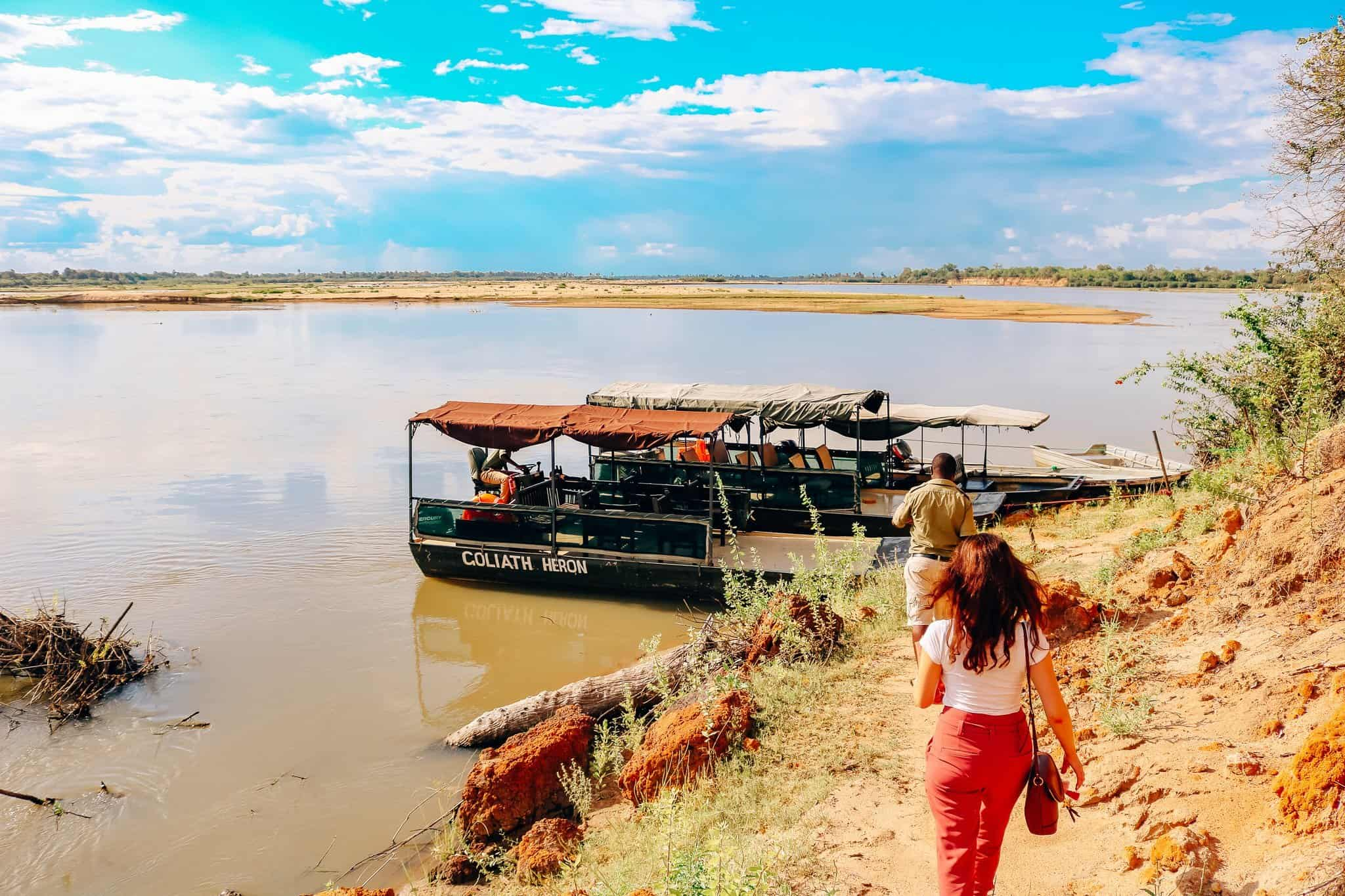 The Start of our First African Safari - River Safari
