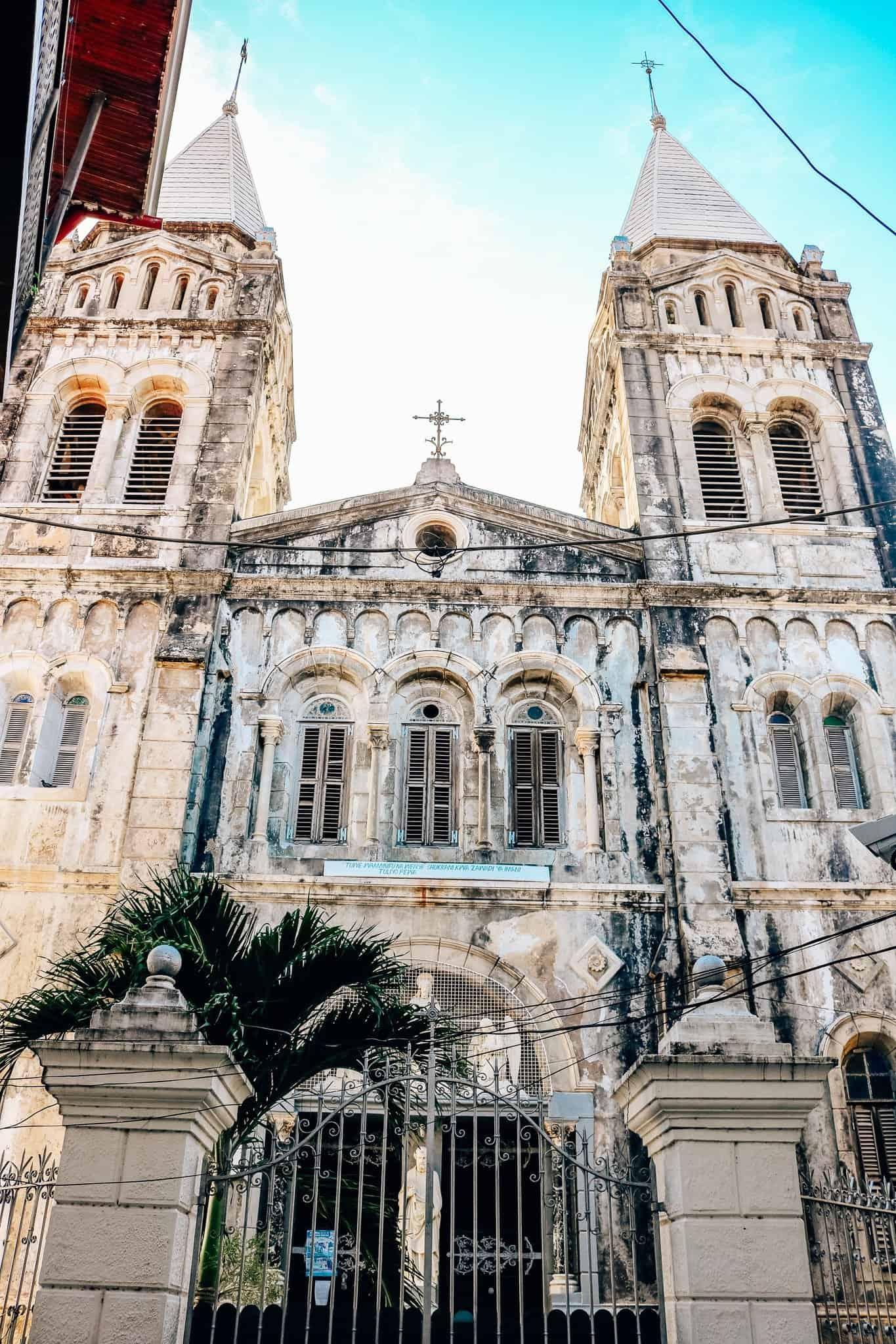 Visions of Zanzibar - St. Joseph Cathedral