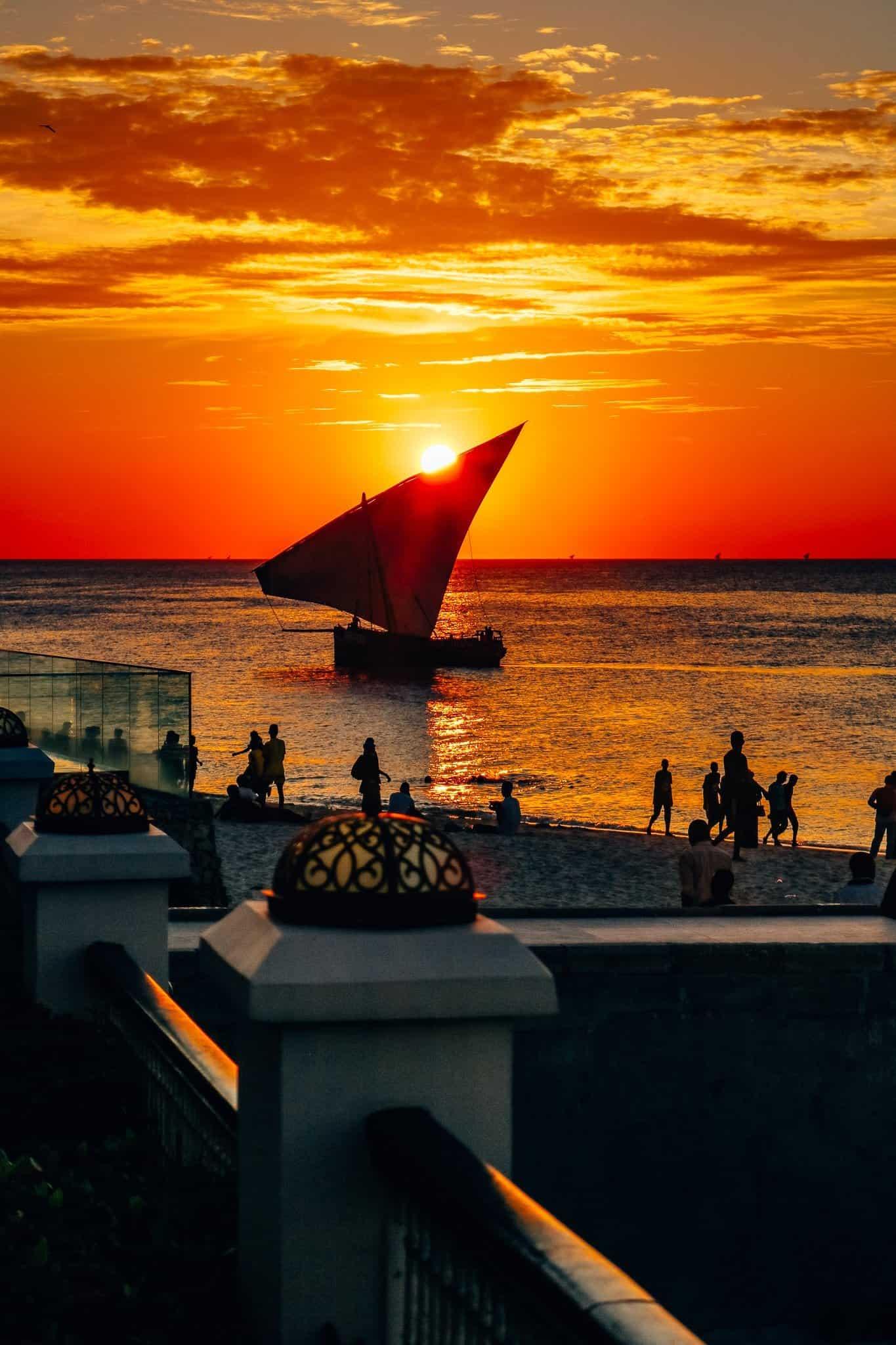 Visions of Zanzibar - Sunset at Park Hyatt Zanzibar
