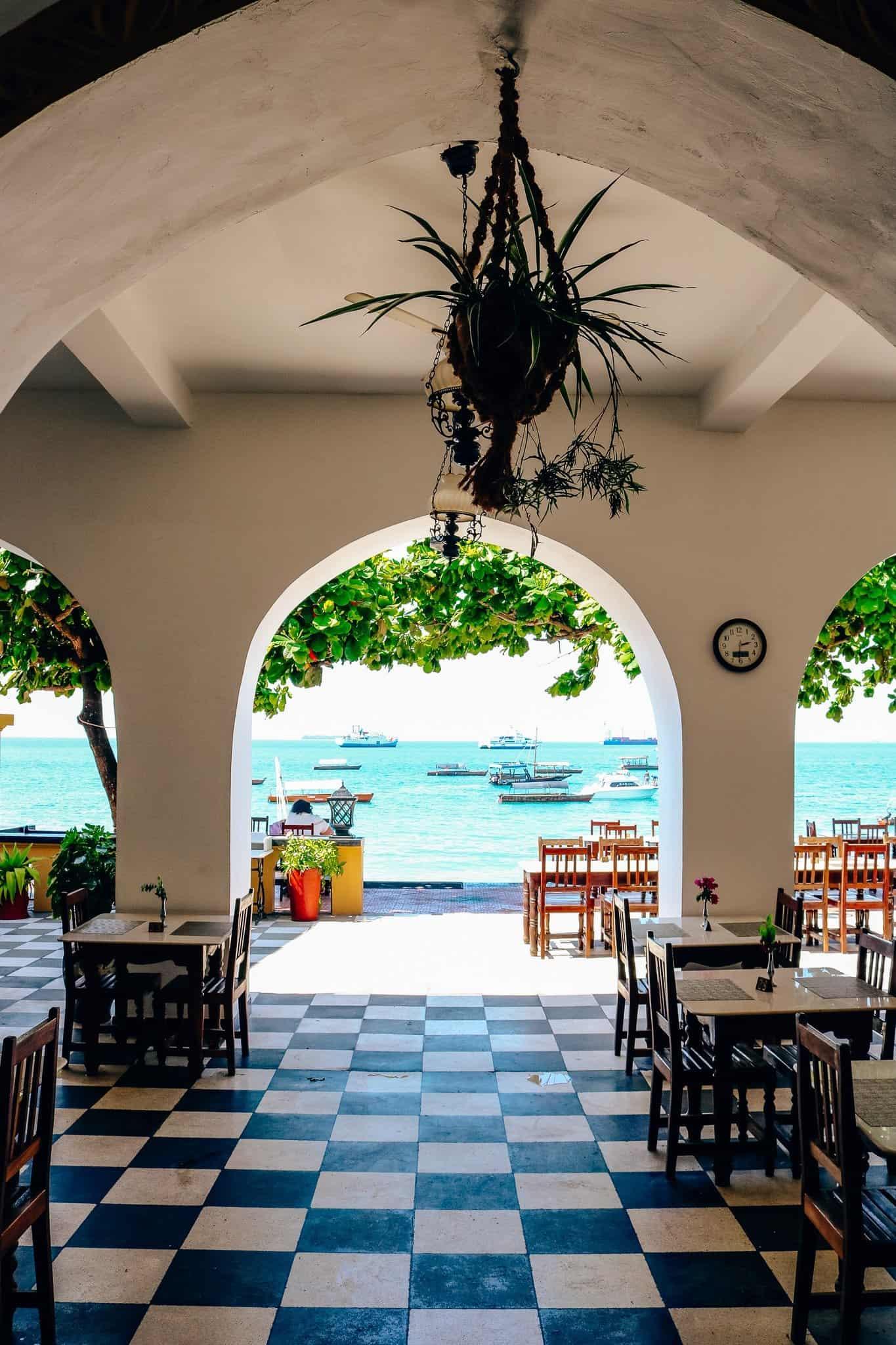 Visions of Zanzibar - View from Tembo Hotel