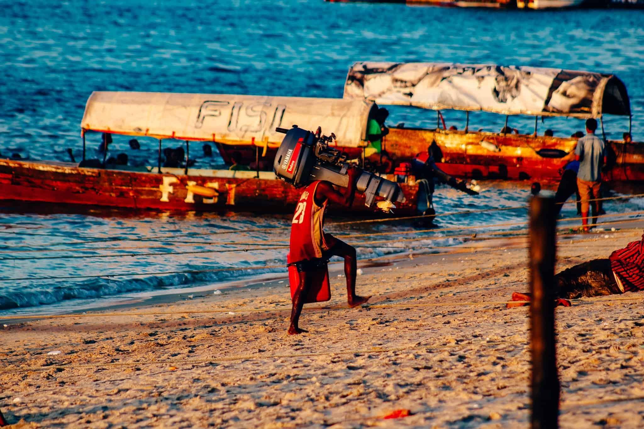 Visions of Zanzibar - Sunset