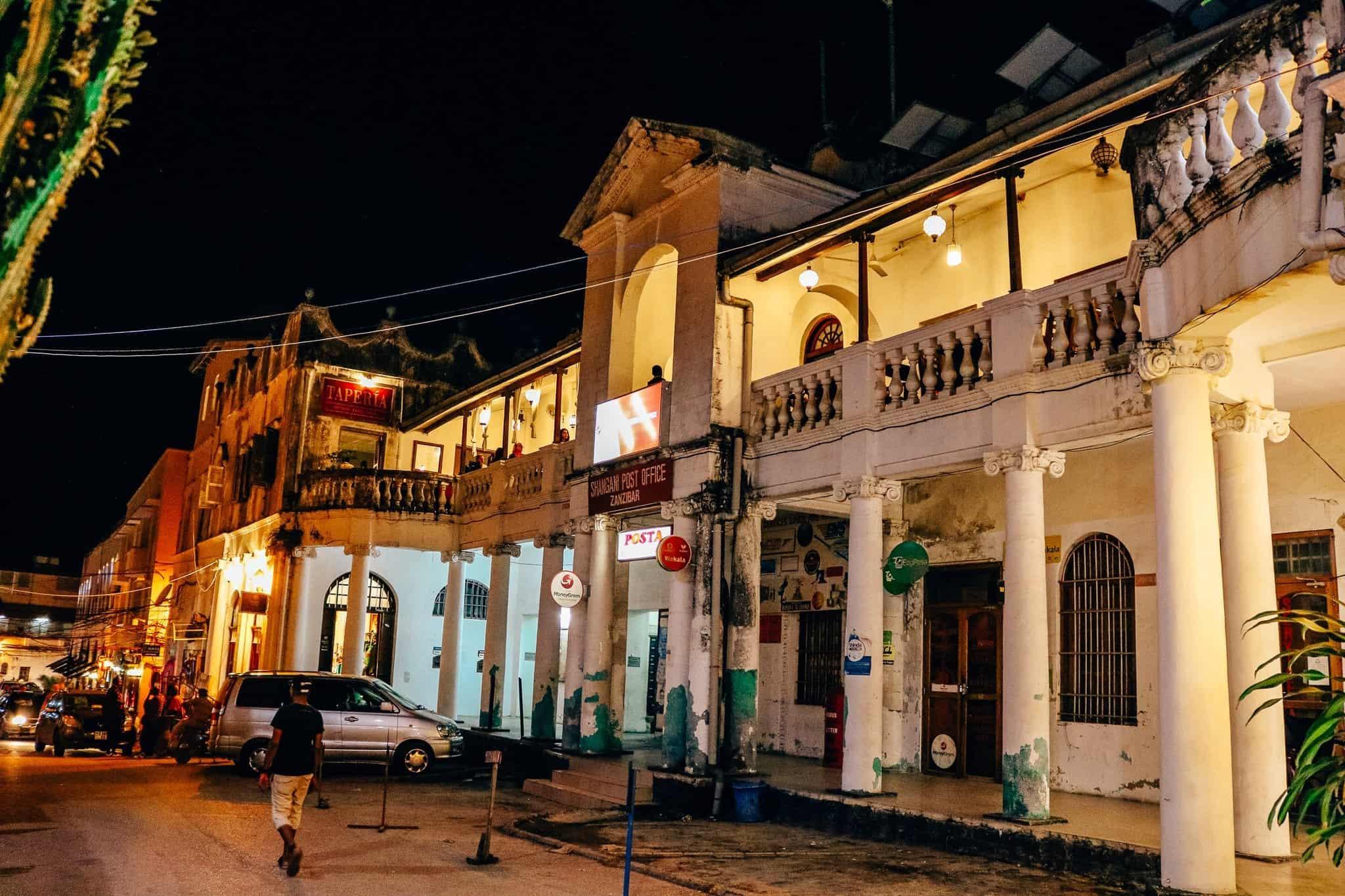 Visions of Zanzibar - Stone Town at Night