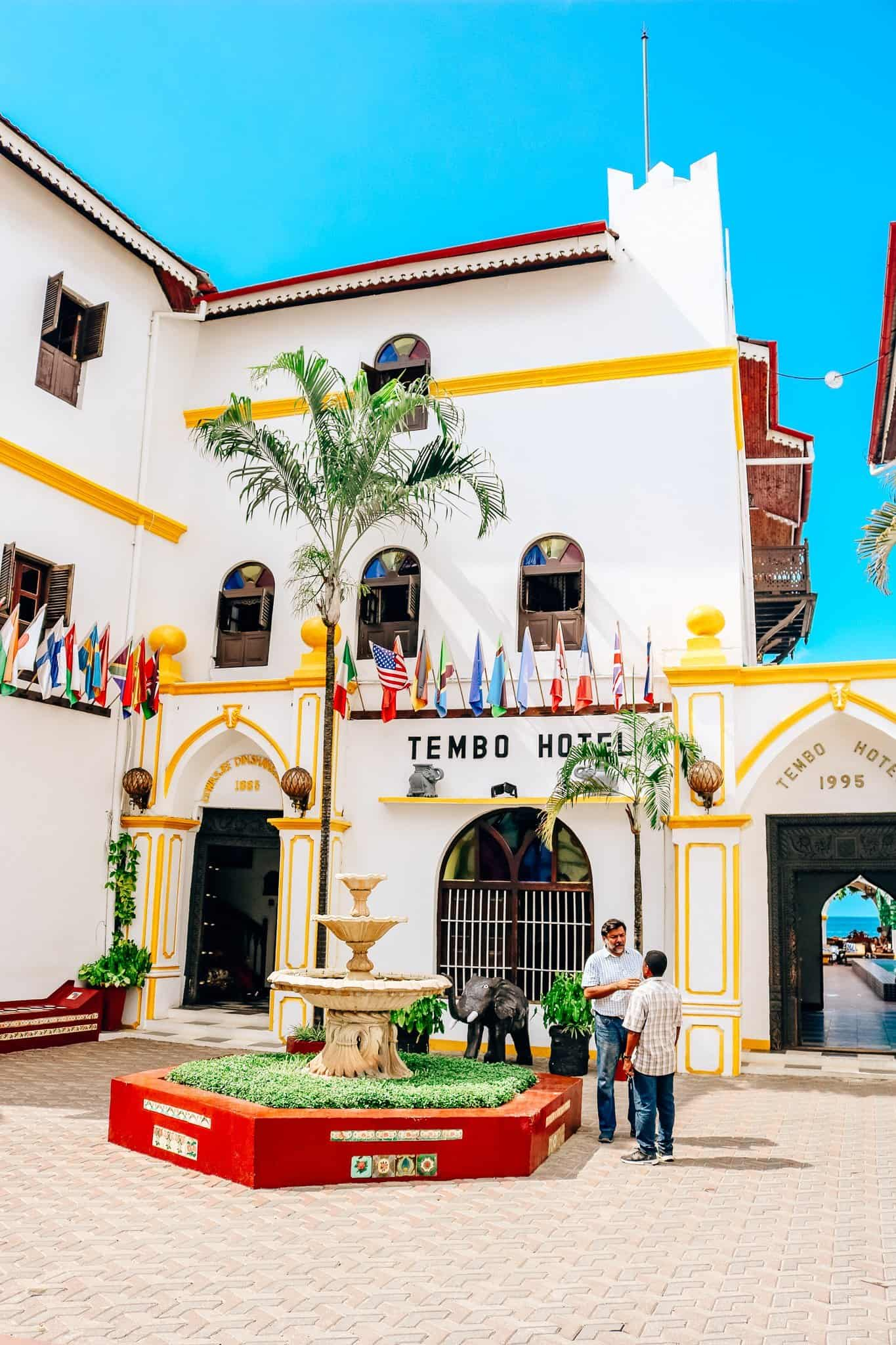 Visions of Zanzibar - Tembo Hotel