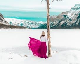 Banff Winter Wonder Tour - Lake Minnewanka