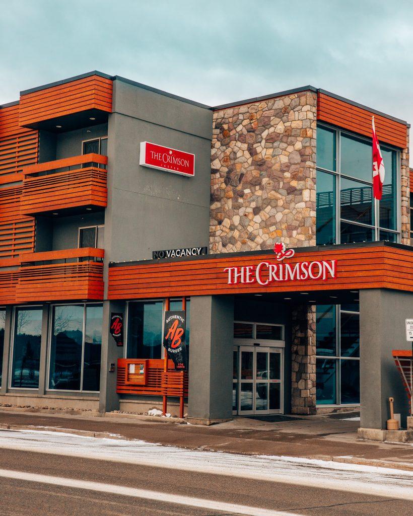 The Crimson Hotel Main Entrance Jasper