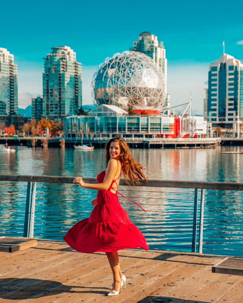 Science World in Downtown Vancouver