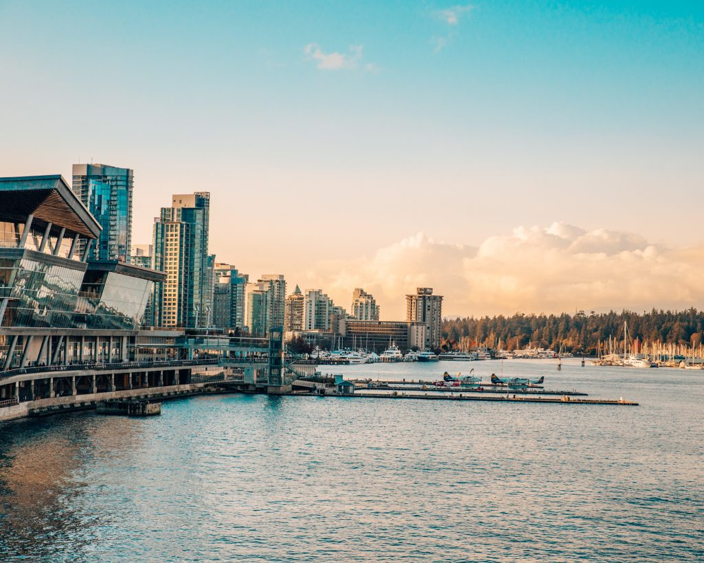 Vancouver Harbour Air Seaplane Terminal in Downtown Vancouver
