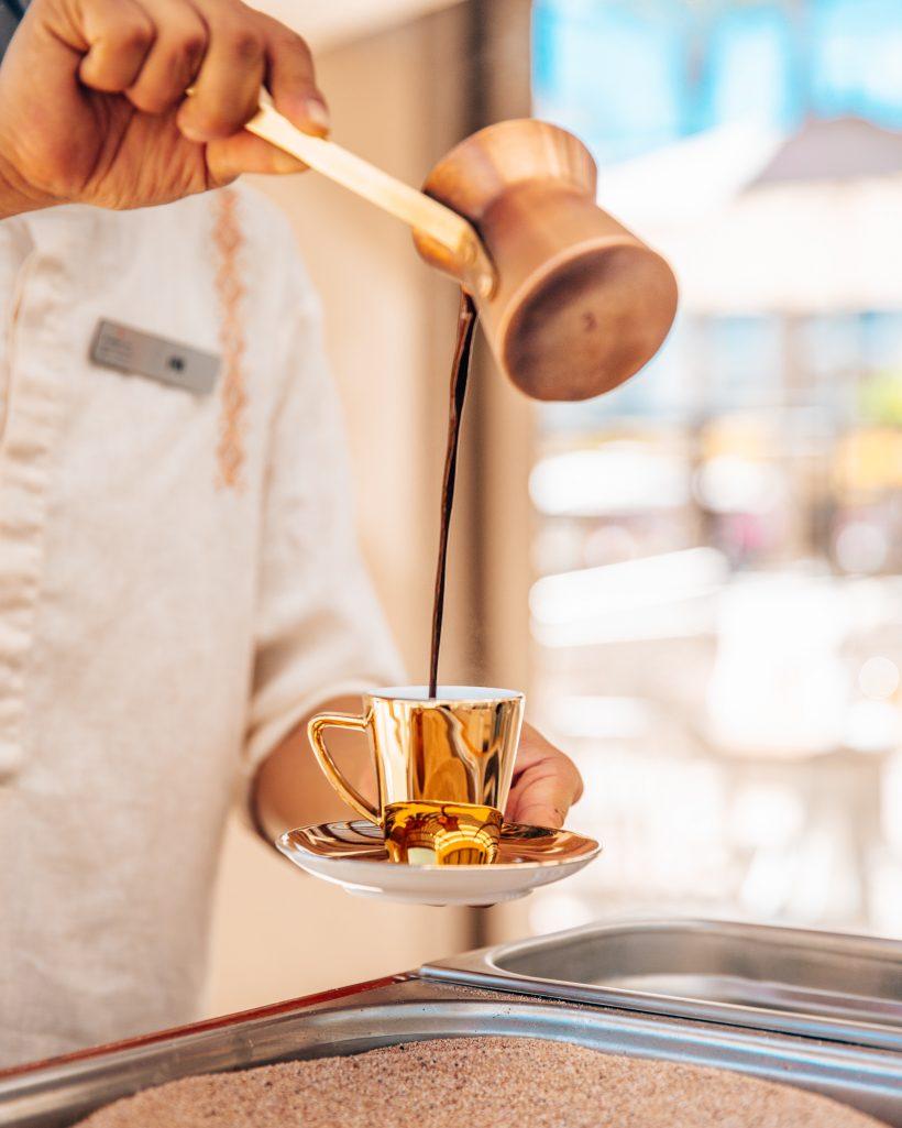 Turkish Coffee at Le Blanc Resort & Spa Los Cabos