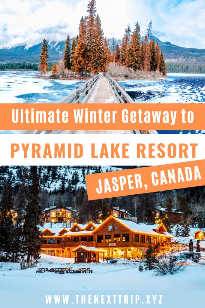 Winter Getaway to Pyramid Lake Resort in Jasper, Canada
