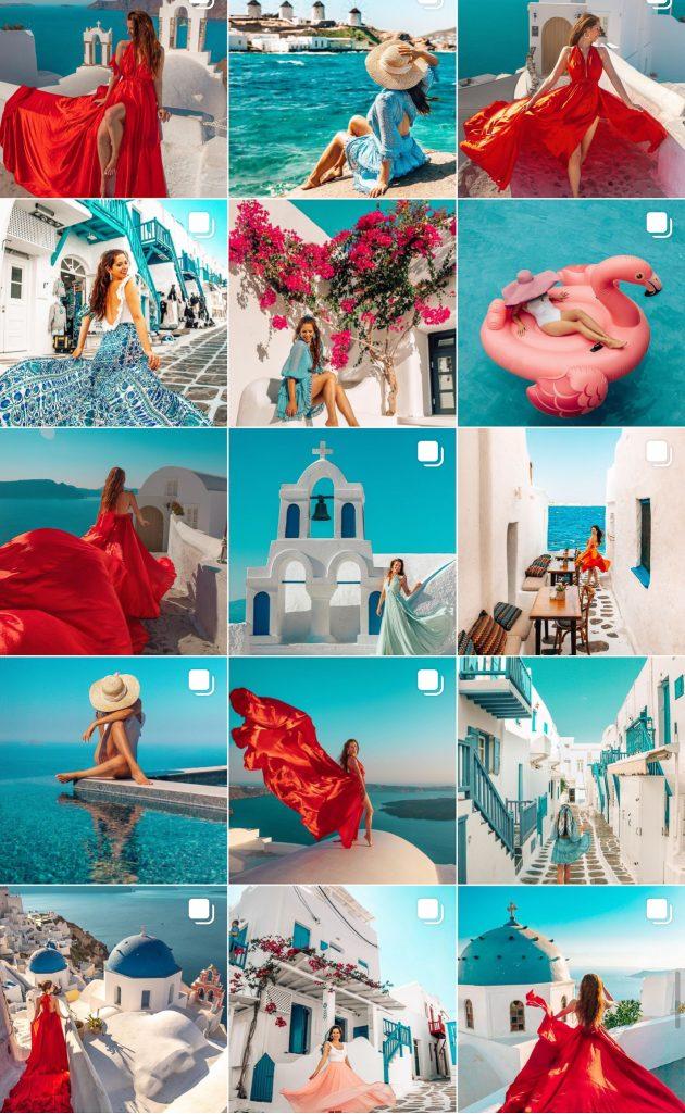 The Next Trip Greece Instagram Feed