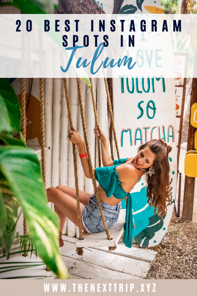 Most Instagrammable Places in Tulum