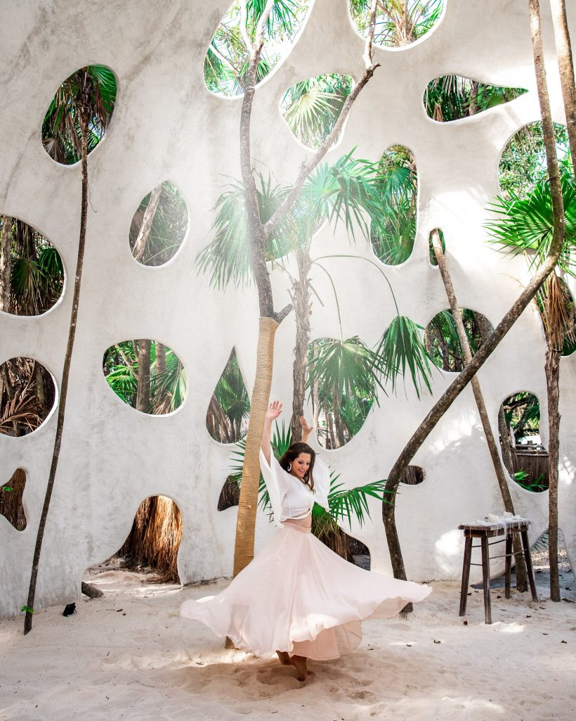 Entrance to ROC Luxe Tulum