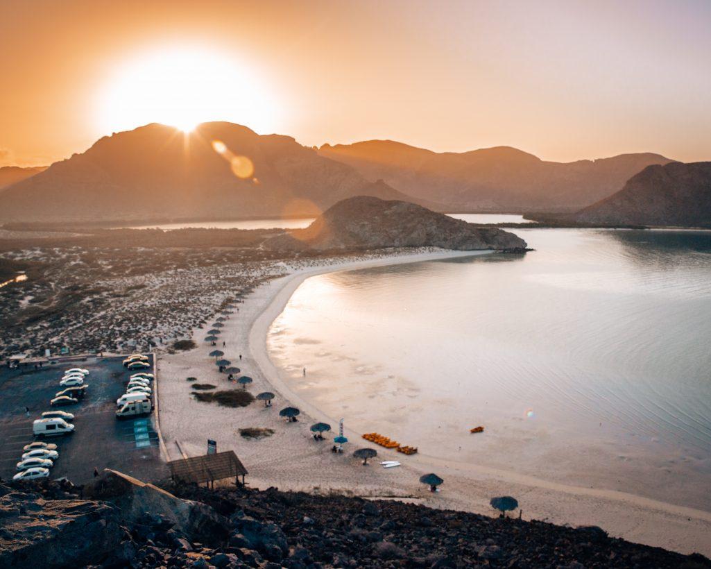 Sunrise at Balandra Beach