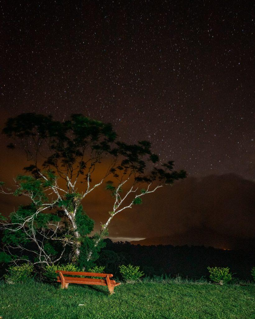 Night Sky in Arenal Area Costa Rica